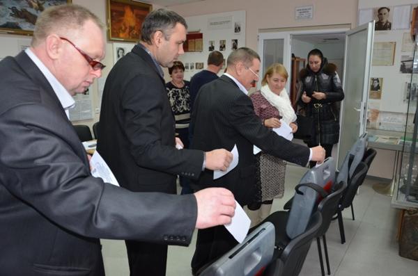 Башмаковский район: конференция местного отделения